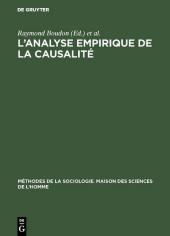 L'analyse empirique de la causalité