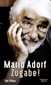 Mario Adorf. Zugabe! Cover
