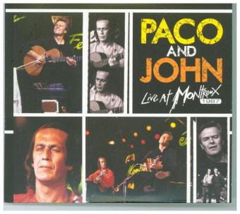 Paco and John Live At Montreux 1987, 2 Audio-CD (Ltd.CD Edition)