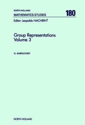 Group Representations