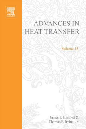 ADVANCES IN HEAT TRANSFER VOLUME 15