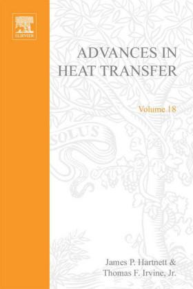 ADVANCES IN HEAT TRANSFER VOLUME 18