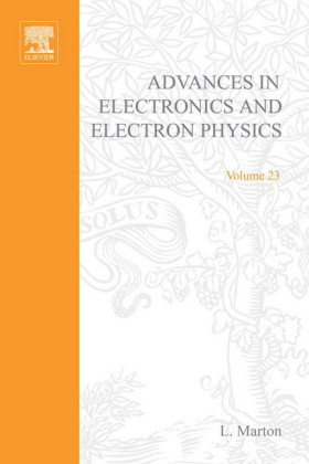 ADVANCES ELECTRONCIC &ELECTRON PHYSICS V23