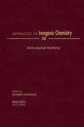 ADVANCES IN INORGANIC CHEMISTRY VOL 38