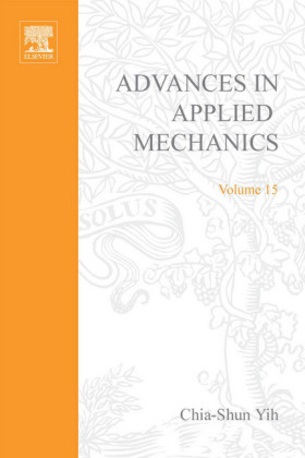 ADVANCES IN APPLIED MECHANICS VOLUME 15