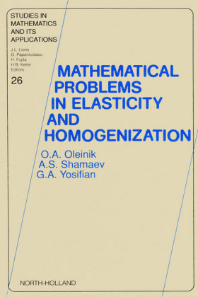 Mathematical Problems in Elasticity and Homogenization