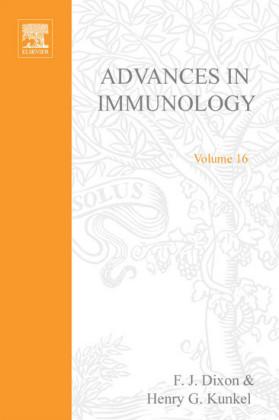 ADVANCES IN IMMUNOLOGY VOLUME 16