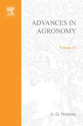 ADVANCES IN AGRONOMY VOLUME 16