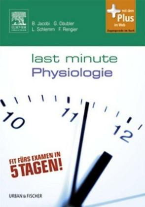 Last Minute Physiologie