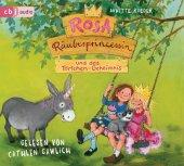 Rosa Räuberprinzessin und das Törtchen-Geheimnis, 1 Audio-CD Cover