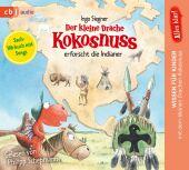 Der kleine Drache Kokosnuss erforscht: Die Indianer, 1 Audio-CD Cover