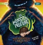 Die Geheimnisse von Oaksend - Die Monsterprüfung, 1 MP3-CD Cover