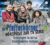 Die Pfefferkörner - Hörspiele zur TV Serie, 2 Audio-CDs