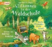 Willkommen in der Waldschule - Beste Freunde - Pfote drauf!, 2 Audio-CDs Cover