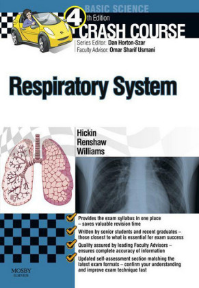 Crash Course Respiratory System - E-Book