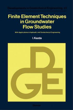 Finite Element Techniques in Groundwater Flow Studies