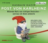 Post von Karlheinz, 2 Audio-CDs Cover