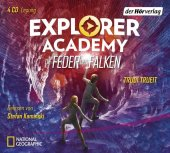 Explorer Academy - Die Feder des Falken, 4 Audio-CDs Cover