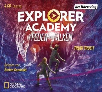 Explorer Academy - Die Feder des Falken, 4 Audio-CDs