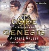 Code Genesis - Sie werden dich finden, 1 MP3-CD Cover