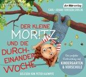 Der kleine Moritz und die Durcheinander-Woche, 1 Audio-CD Cover
