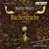 Der Bücherdrache, 4 Audio-CDs Cover