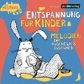 Entspannung für Kinder. Melodien zum Kuscheln und Ausruhen, 1 Audio-CD Cover