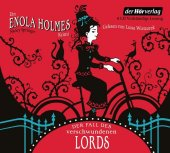 Enola Holmes, 4 Audio-CDs Cover