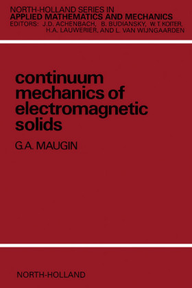 Continuum Mechanics of Electromagnetic Solids