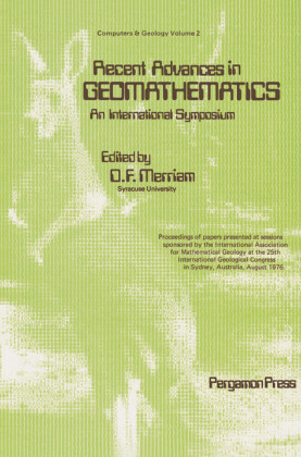 Recent Advances in Geomathematics - An International Symposium