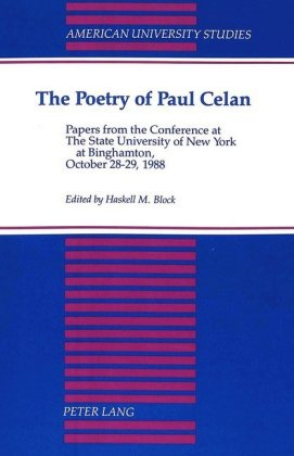 The Poetry of Paul Celan