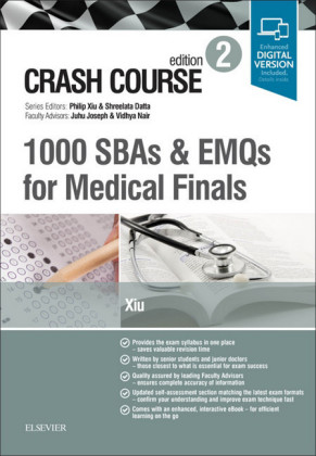 Crash Course: 1000 SBAs and EMQs for Medical Finals