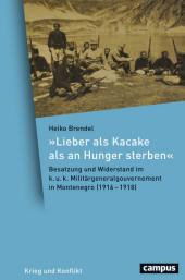 'Lieber als Kacake als an Hunger sterben'