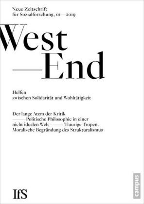 """WestEnd 2019/1: Helfen zwischen Solidarit""""t und Wohlt""""tigkeit"""