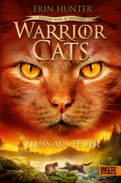 Warrior Cats - Vision von Schatten. Fluss aus Feuer Cover
