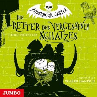 Modermoor Castle - Die Retter des vergessenen Schatzes, 2 Audio-CDs