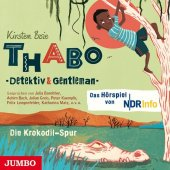 Thabo. Detektiv & Gentleman - Die Krokodil-Spur, 1 Audio-CD Cover