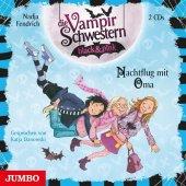 Die Vampirschwestern black & pink - Nachtflug mit Oma, 2 Audio-CDs