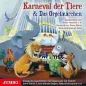 Karneval der Tiere & Das Orgelmärchen, 1 Audio-CD Cover