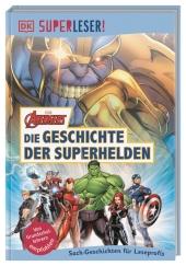 Superleser! Marvel Avengers Die Geschichte der Superhelden Cover