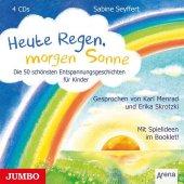 Heute Regen, morgen Sonne, 4 Audio-CDs Cover