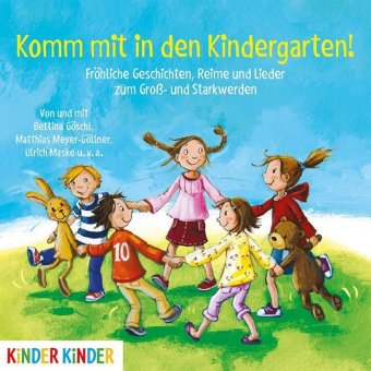 Komm mit in den Kindergarten, 1 Audio-CD