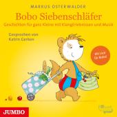 Bobo Siebenschläfer. Geschichten für ganz Kleine mit KlangErlebnissen und Musik, 1 Audio-CD Cover