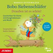 Bobo Siebenschläfer. Draußen ist es schön!, 1 Audio-CD Cover