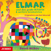 Elmar und das große Kitzeln & weitere Geschichten, 1 Audio-CD Cover