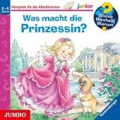 Wieso? Weshalb? Warum? junior. Was macht die Prinzessin?, 1 Audio-CD Cover