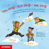 You sing - ich sing - we sing, 1 Audio-CD Cover