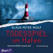 Todesspiel im Hafen, 4 Audio-CDs Cover