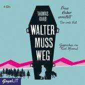 Walter muss weg, 4 Audio-CDs Cover