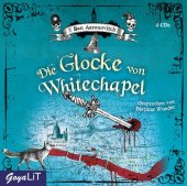 Die Glocke von Whitechapel, 4 Audio-CDs Cover